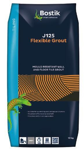 Grouts J100 Smooth Finish Grout J125 Flexible Grout J175 Wide Joint Grout J200 SGS Pourable Grout J100 Smooth Finish Grout is a professional quality, cementitious polymer modified grout for walls and