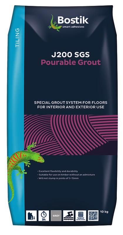 polymer modified grout for walls and floors. It is formulated to provide narrow to wide joint easy clean off, non-slump and dries with a very hard finish.
