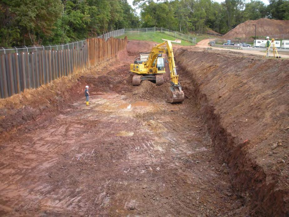 Site Preparation Before beginning work, contractors should make sure they have thoroughly studied the project specifications, the engineered shop drawings for the wall and complied with all the