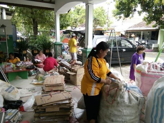 are called in Indonesia are a new convincing concept for waste management.