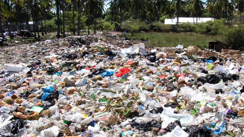 waste; 6-8% of plastic waste in