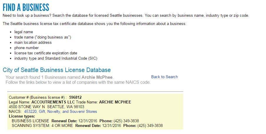 NAICS CODE HOW TO FIND http://www.seattle.