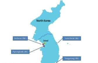 Existing and forecast of LNG bunkering infrastructure in Japan, Korea and South East Asia Korea LNG bunkering facilities in Korea KOGAS is supplying LNG bunkers to Asia s first LNG powered passenger
