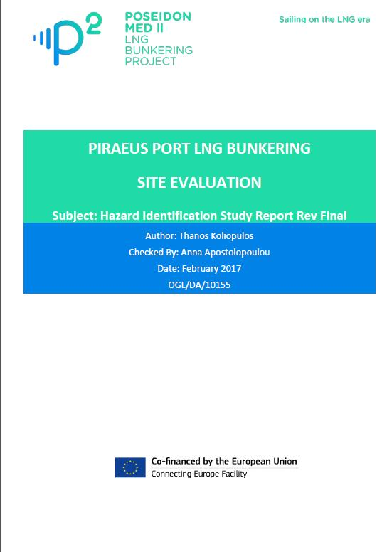 Port Studies Risk Assessment Site Survey Feasible types of bunkering operations Bunkering fuel