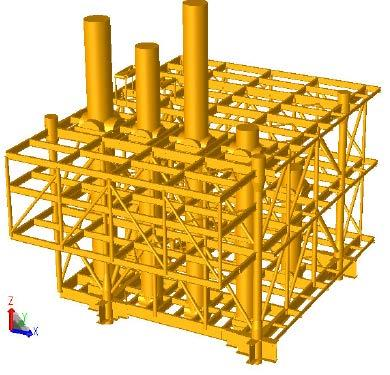 Topsides Layout and Loads Oil FPSO topsides
