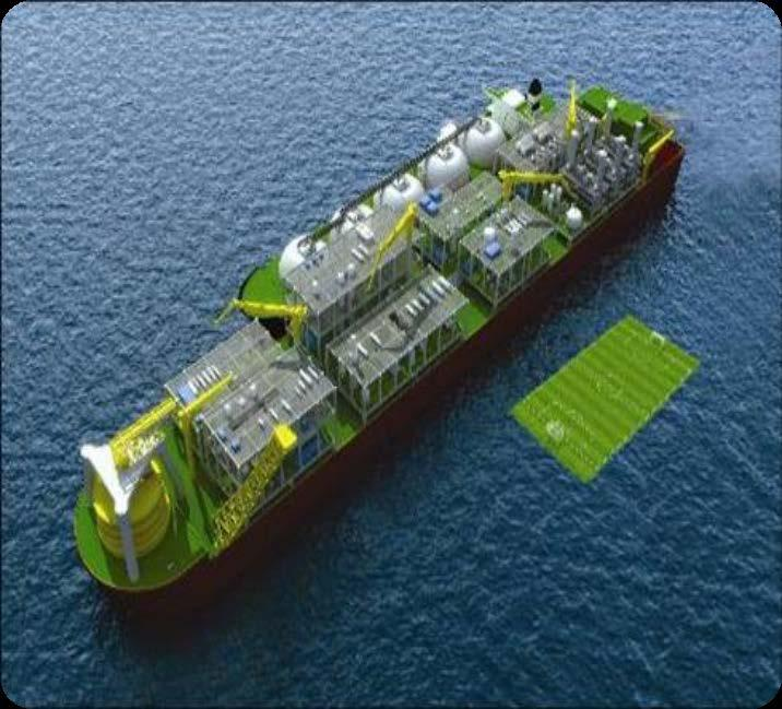 Challenges of Scale Image courtesy of Shell Australia Largest floating offshore facility in the world Production from 2 MTPA to in excess of 6 MTPA Deck size more than 4 football fields