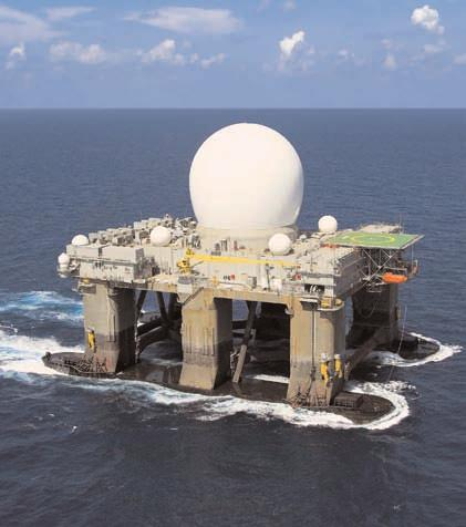 Offshore Platforms Platforms Moss Maritime has been involved in the design, construction and commissioning of a majority of the most advanced semi-submersible platforms and