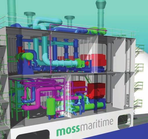 Moss TM LNG Carriers LNG Carriers The Moss TM LNG carrier with spherical LNG tanks represents the safest and most reliable LNG containment system on the market.