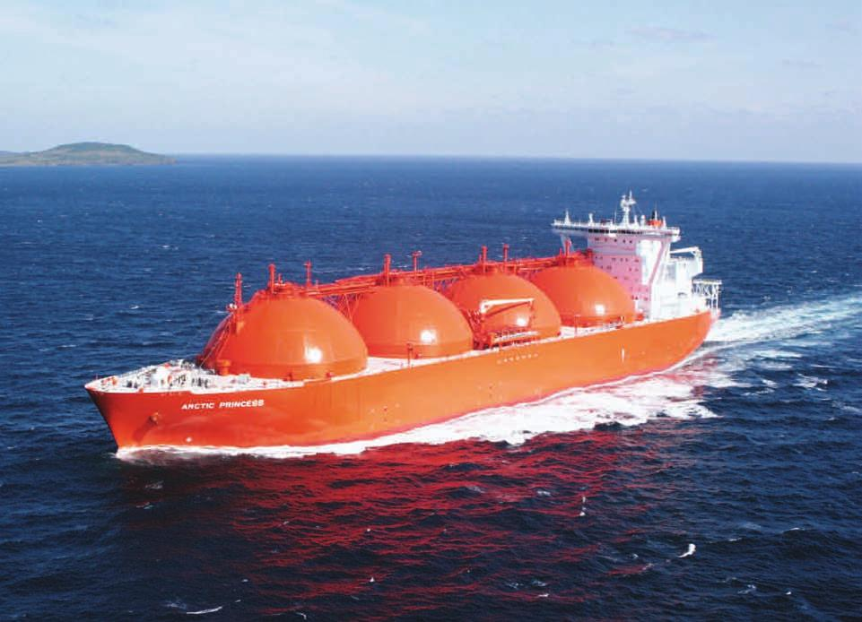 Safety and Reliability Moss Containment System Moss LNG Tanks are the industry reference for reliable LNG transportation.