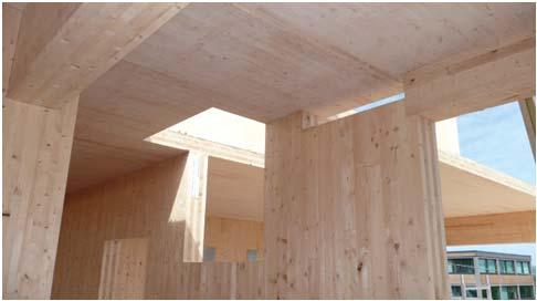Chapter 6 Types of Construction Cross-laminated timber is now permitted within the exterior walls of Type IV buildings where protected by one of three specified materials. 602.4.