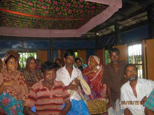 APPENDIX 1 VILLAGE MEETINGS AND PBS MEETINGS Consultation Meeting Held in Barisal Date: