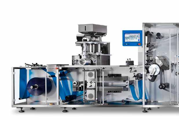 Delivering Solutions Blister Solutions for Demanding Applications The Romaco Noack 930 and 960 Blister Solutions impress with excellent OEE values: performance, quality and availability improve the