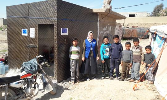 BENEFICIARY STORIES - Sealing Off Kit STORY 1 - I fled from Hawija. I am a 23-year-old woman from Hawija.