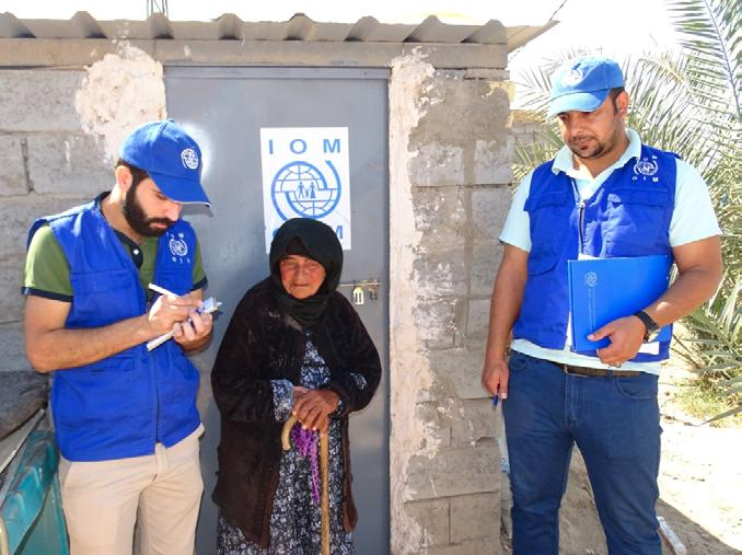 BENEFICIARY STORIES - Critical Shelter Upgrade During ISIL s occupation of Ninewa governorate, many families fled from their homes in search of safety.