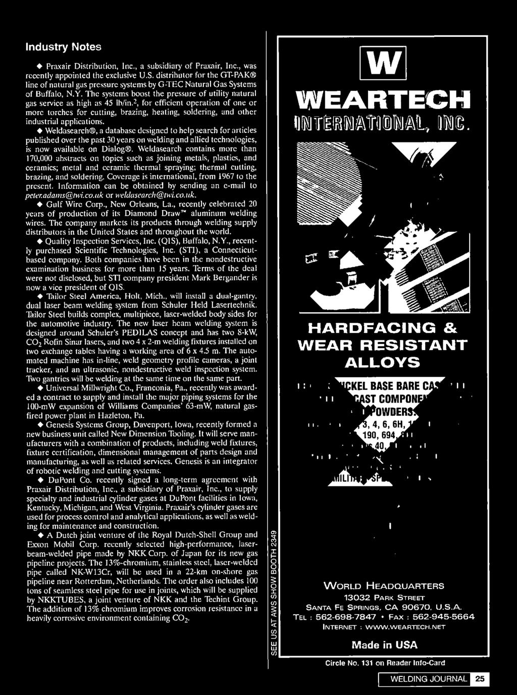 Februa I It Show2002 March 4 7 2002 Mccormick Place South Metal Detector Into A Lrl Long Range Locator Friendly Weldasearch Contains More Than 170000 Abstracts On Topics Such As Joining Metals Plastics And