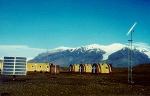 Station in Ellesmere Island