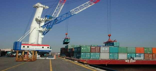Need dedicated barge ports with: Container handling cranes Container handling equipment