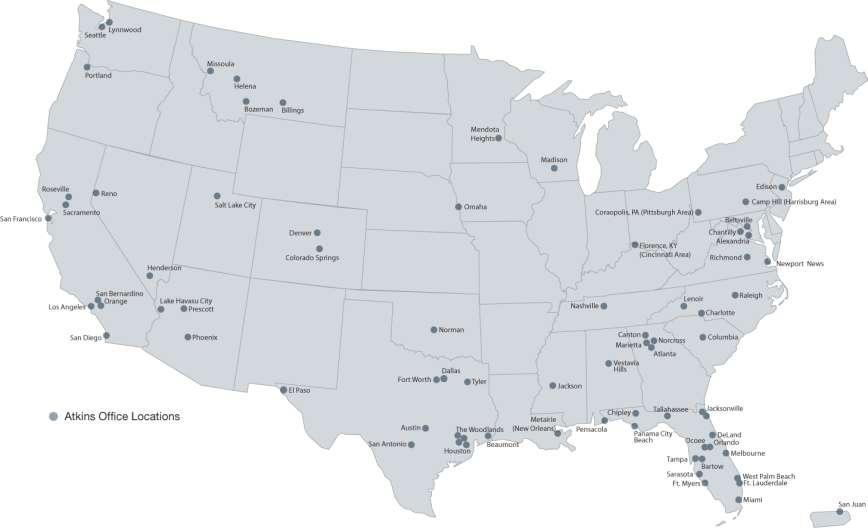 Where we are 80 offices in U.S.