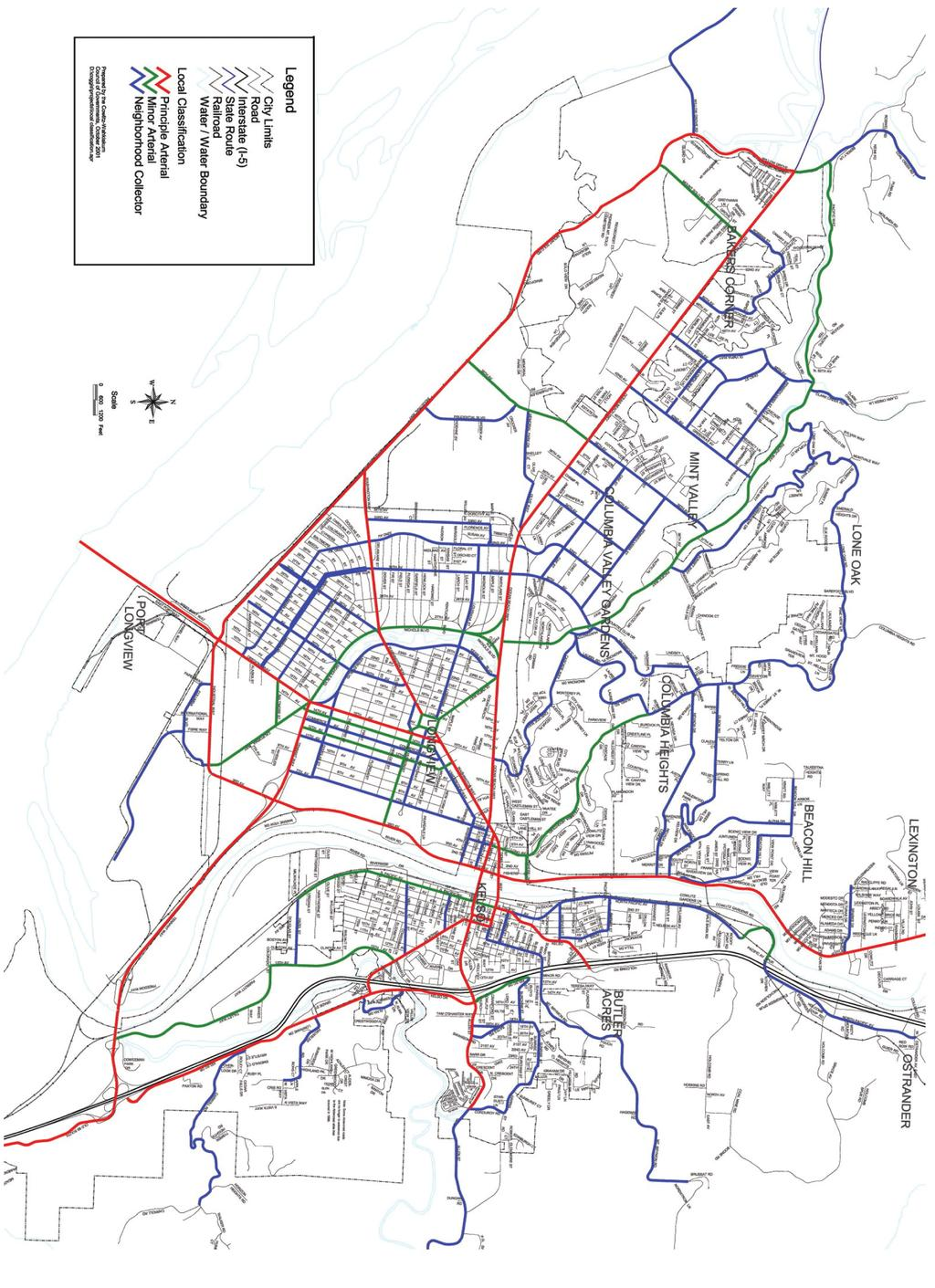 City of Longview Comprehensive Plan December 2006