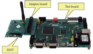 SENSOR NODE & TEST BOARD The chip-level signals to be captured depend on the chips inside the wireless sensor nodes.