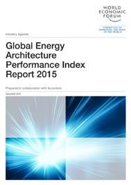 Industry Agenda New Energy Architecture Report Series Since 2011, the World Economic Forum has been working on the New Energy Architecture initiative, in collaboration with Accenture, to better