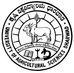 For official use only UNIVERSITY OF AGRICULTURAL SCIENCES
