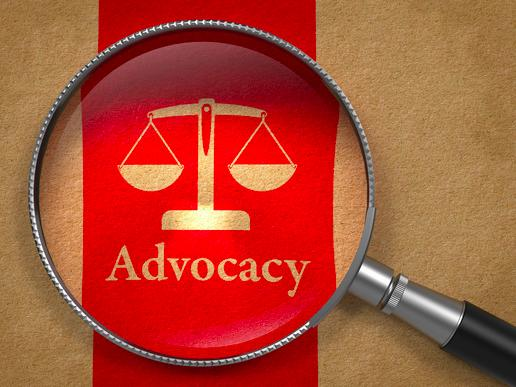 There are some organizations that just get it, when it comes to advocacy. Everyone is into it.