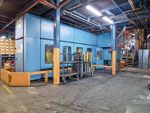 The Our foundry consists of five fully automated vertical DISAMATIC lines and a range of medium and net frequency induction furnaces with a total capacity of up to 800 tonnes per
