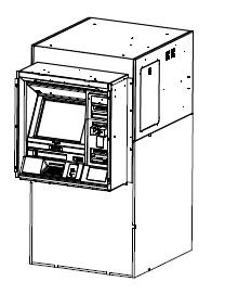 Chapter4. System Installation Remove the ATM from the palette 1. Remove the bolts from the locking bracket. 2. Remove the Adjustor with a spanner. 3. Lift the ATM using a lifting device. 4.