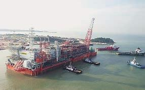 Keys to Success Extensive Track Record Floating LNG () refers to LNG plants in marine environments.