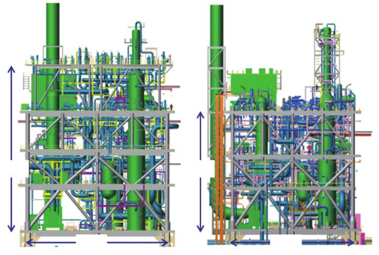 Keys to Success Optimization from the Initial Stage Topside design Optimization from the initial stage is essential for the successful realization of facilities as it improves total economic