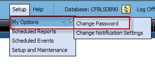 Changing Your Password Overview Module 1: User Interface You may initially be required to change your password, and depending on your system s settings, you may be required to