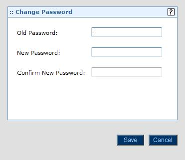 Procedure Complete the following steps to change your password: 1. Click on the Setup option on the upper right-hand corner of the page. Select My Options and then Change Password.