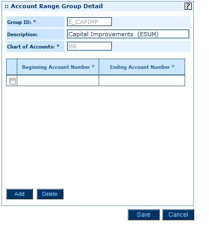 On the Setup Home Page, click General Ledger > Accounts > Account