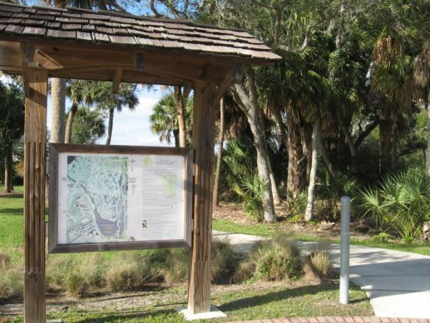 Construction of the Wood Stork Trail began in 2005. It includes a 1.