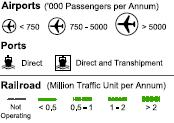 Transport Figure 4. National and regional transport network in all parts of Sudan Source: AICD. Multimodal transport Sudan s transport infrastructure is unevenly developed.