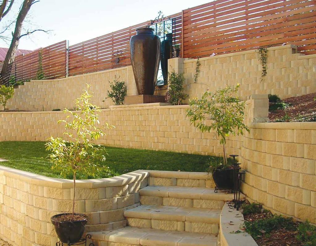 Retaining Wall Products BCP Building Products 18 Kirkcaldy Street Bathurst NSW 2795 Phone