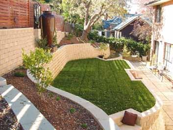 Garden Lockstone The Garden Lockstone retaining wall system is for general purpose use in situation up to 1.50m high.