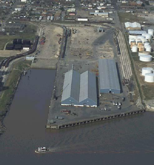 Woodhouse Terminal 235,000 sq ft warehousing Three cargo docks (1,910