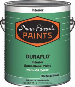Paints Dunn-Edwards, always the right choice Dunn-Edwards continuously engineers advanced formulas for paints that meet a wide variety of project requirements.