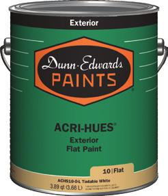 Whether you are working interior or exterior, on a luxury home or a commercial complex, Dunn-Edwards delivers the right paint for the project.