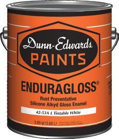 ENDURAGLOSS is a premium exterior/interior, silicone alkyd gloss enamel made for primed metal that will be exposed to severe conditions.