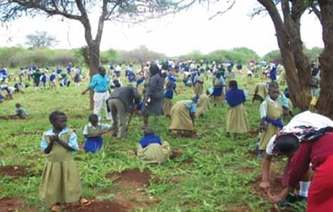 KFS is promoting the adopt-a-tree approach to tree planting in schools where each student or pupil is expected to plant at least one tree and manage it as her/his own project until they graduate from