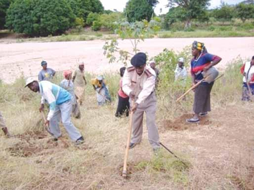 Rehabilitation of degraded area in Voi, Taita Taveta County 3.2.