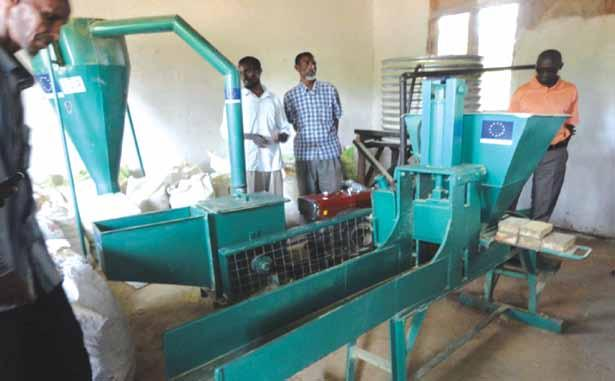 Prosopsis pods Milling machine in Garrisa County Presentation of AESA in Kericho County 3.2.