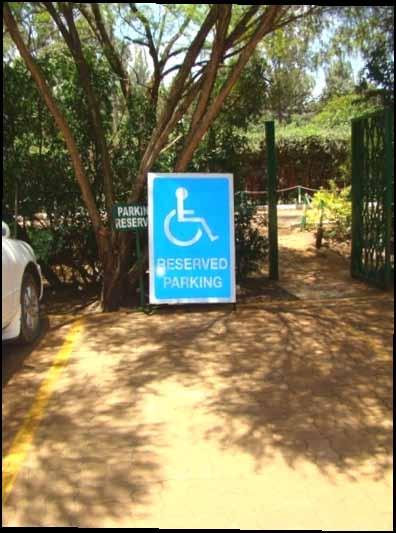 6.4 Mainstreaming Physically Challenged persons facilities The Service is concerned about the level access to Physically Challenged persons.