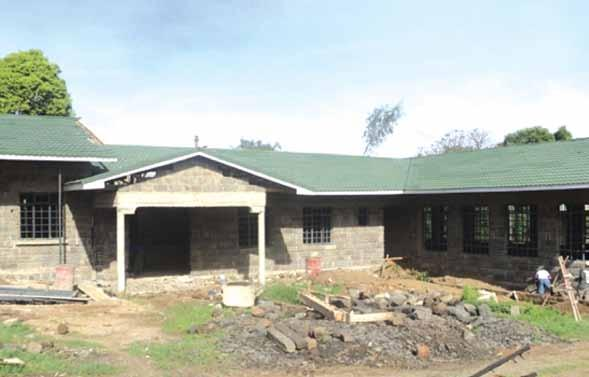 Resource center built in Nakuru.