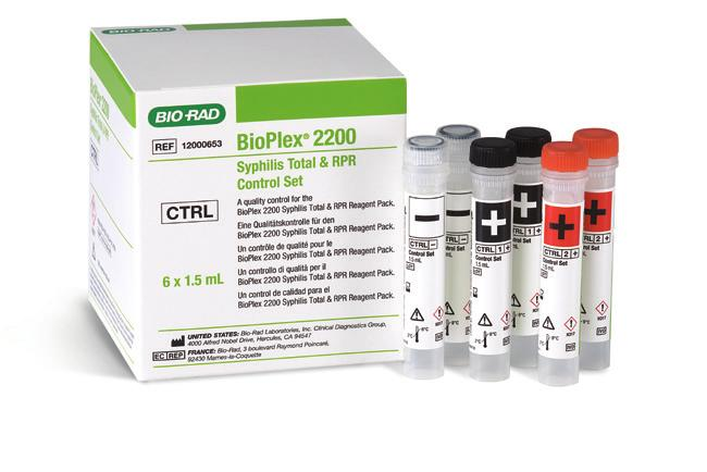 Bead Reagent & Reagent Pack Contains all the necessary reagents (sample diluent, beads and conjugate) to process 100 samples per pack and up to 200 results & Calibrator Set Calibrators are