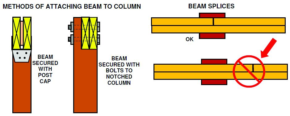 Species Beam Size BEAM SPANS (Wet Service) (Center of one column to center of next) (Source AF&PA; rev.