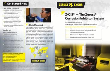 satisfaction. In some regions of the world, Zerust is also known as EXCOR due to language differences.